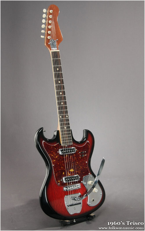 Kind of like a strat on acid, but different.