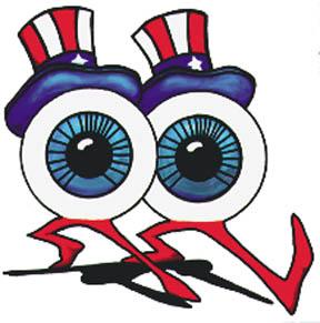 dancing eyeballs? of course.